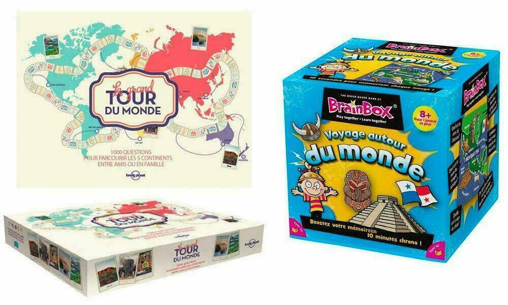 Jeux et Cadeaux pour voyageurs