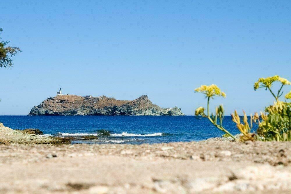 Ile de Giraglia au large du Cap Corse