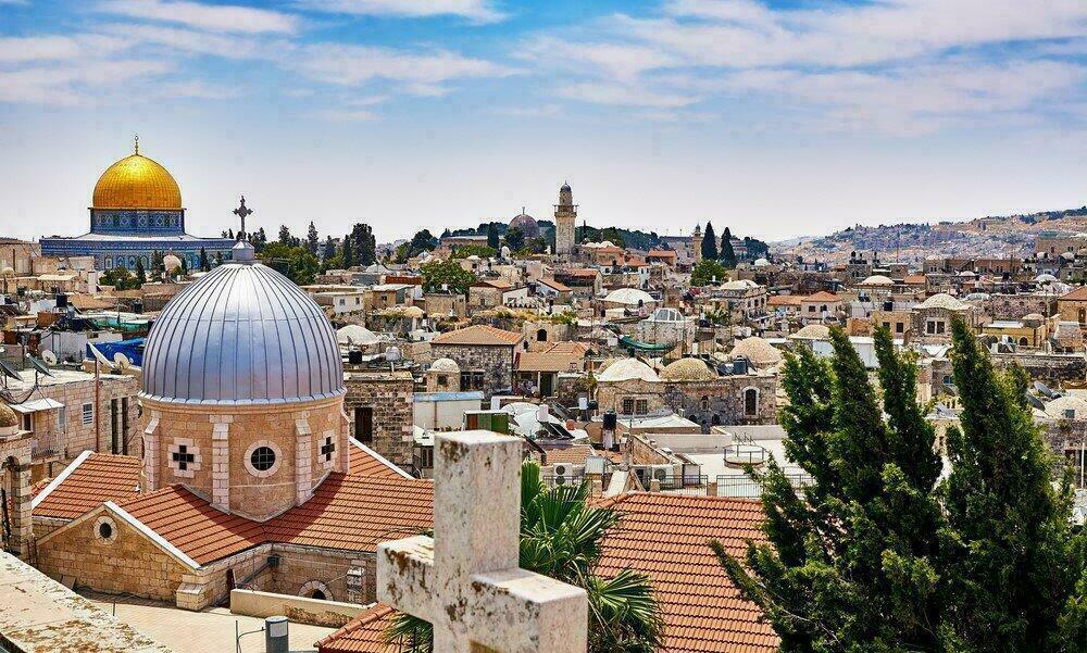 Vue panoramique sur Jerusalem