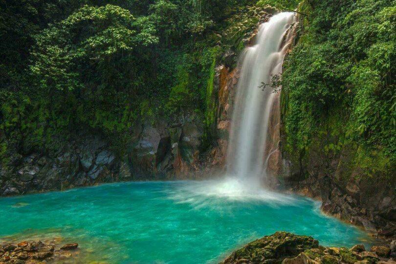 Celeste River au Costa Rica