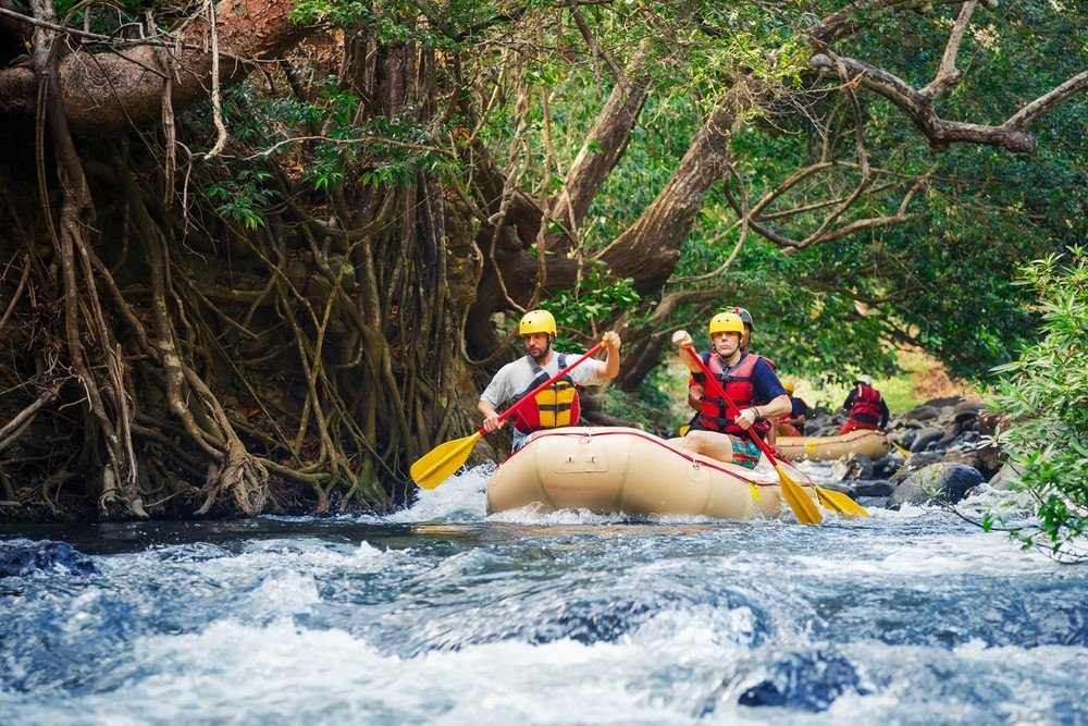 Descente en raft au Costa Rica