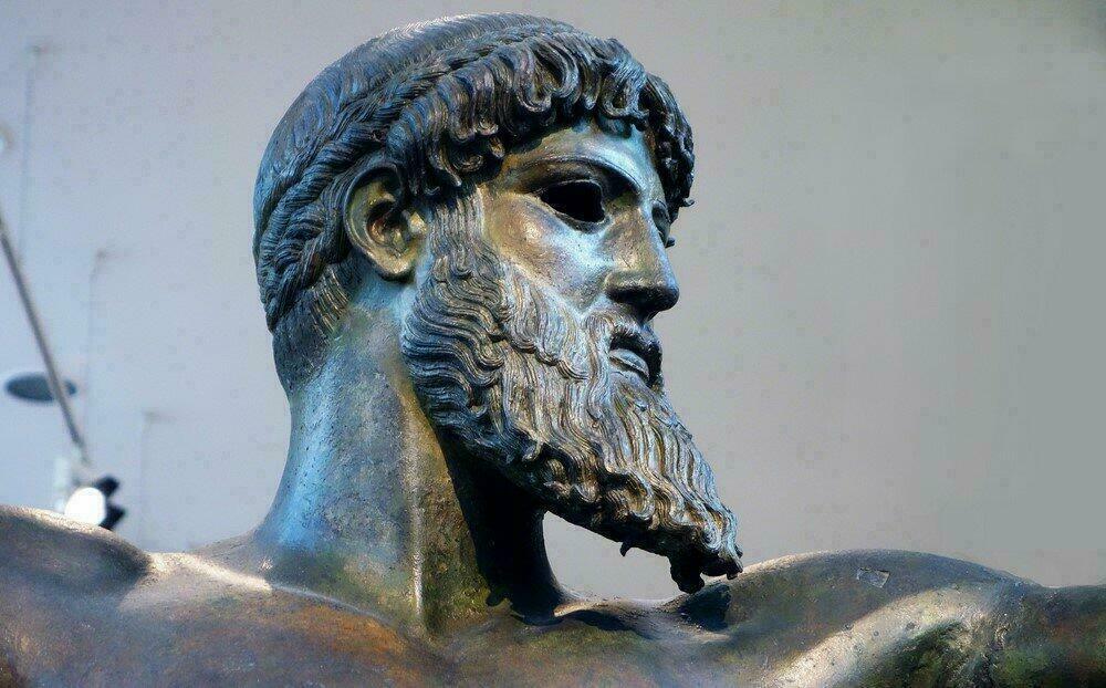 Sculpture du Musée National d'Archéologie d'Athènes