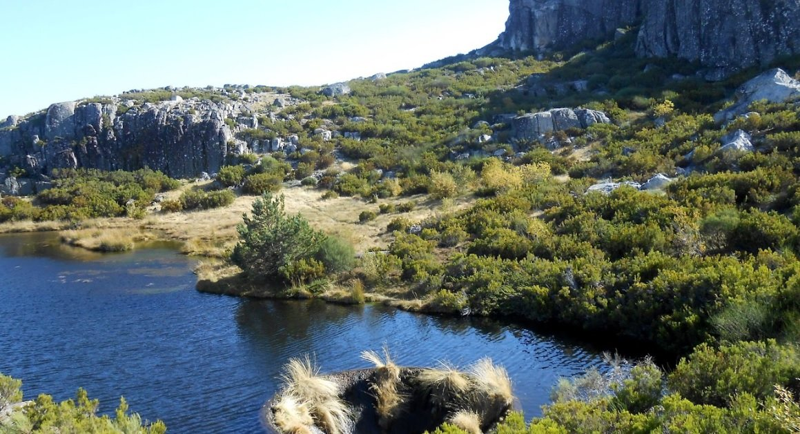 Lac Covao dos Conchos au Portugal