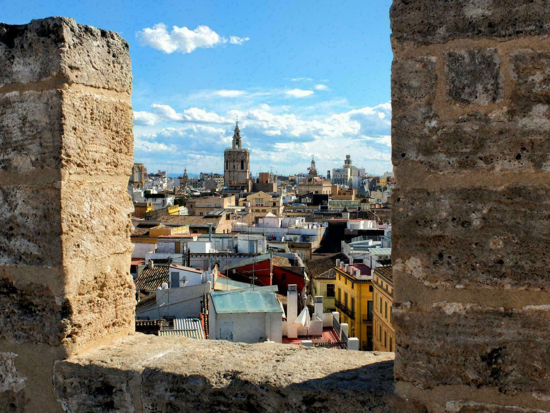 Vue depuis les tours de Serranos