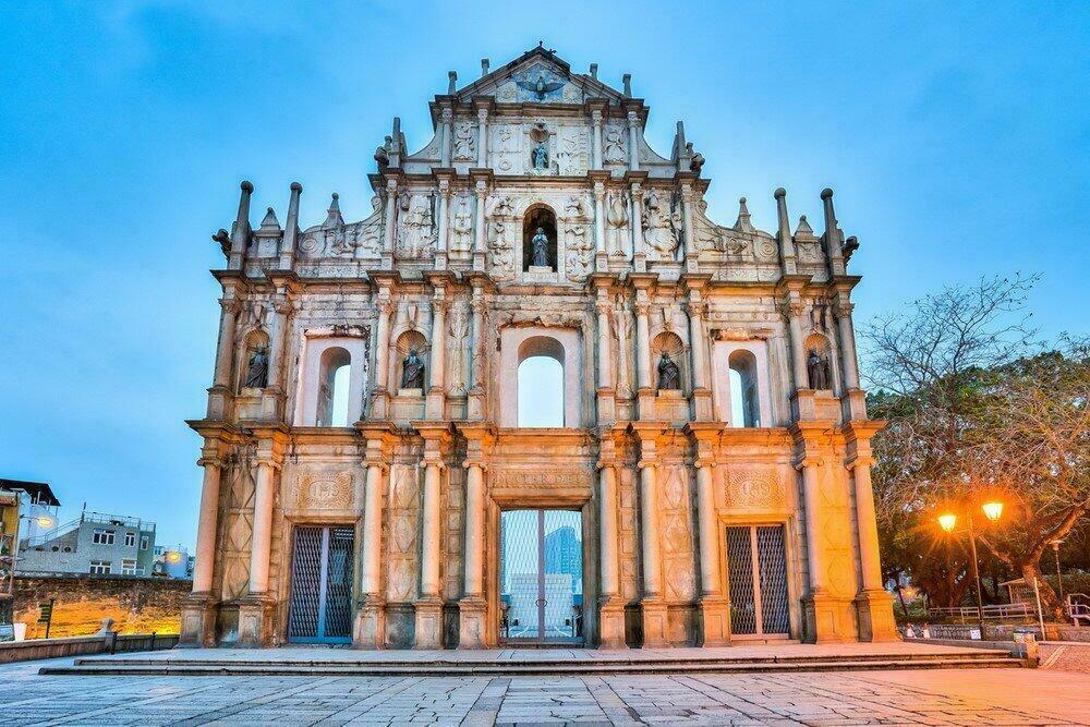 Ruines de la cathédrale Saint Paul, Macao