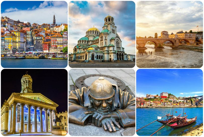 5 villes insolites à découvrir en Europe