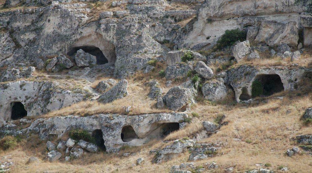 Grottes de Matera
