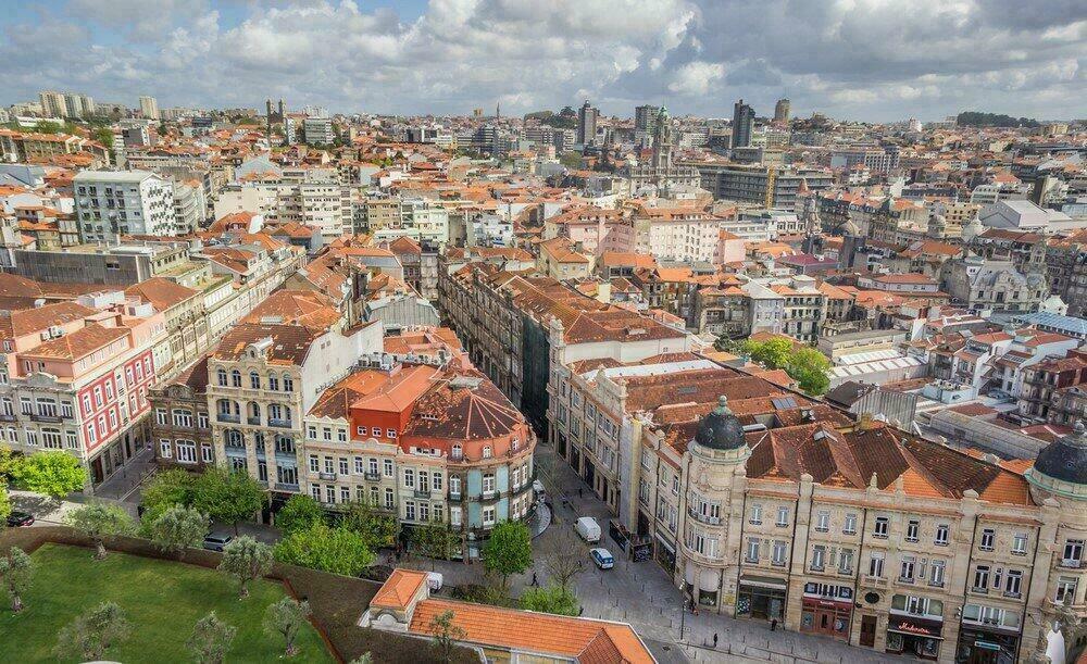 Porto depuis la tour Clerigos