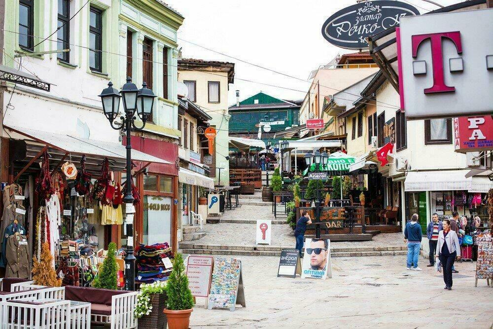 Centre-ville de Skopje