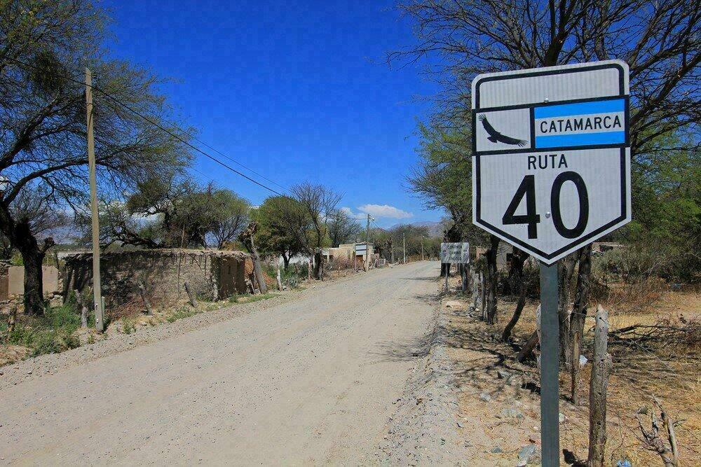 Route 40 en Argentine