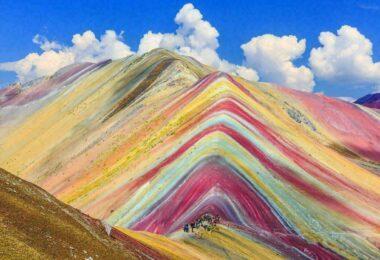 Vinicunca, la montagne arc-en-ciel du Pérou