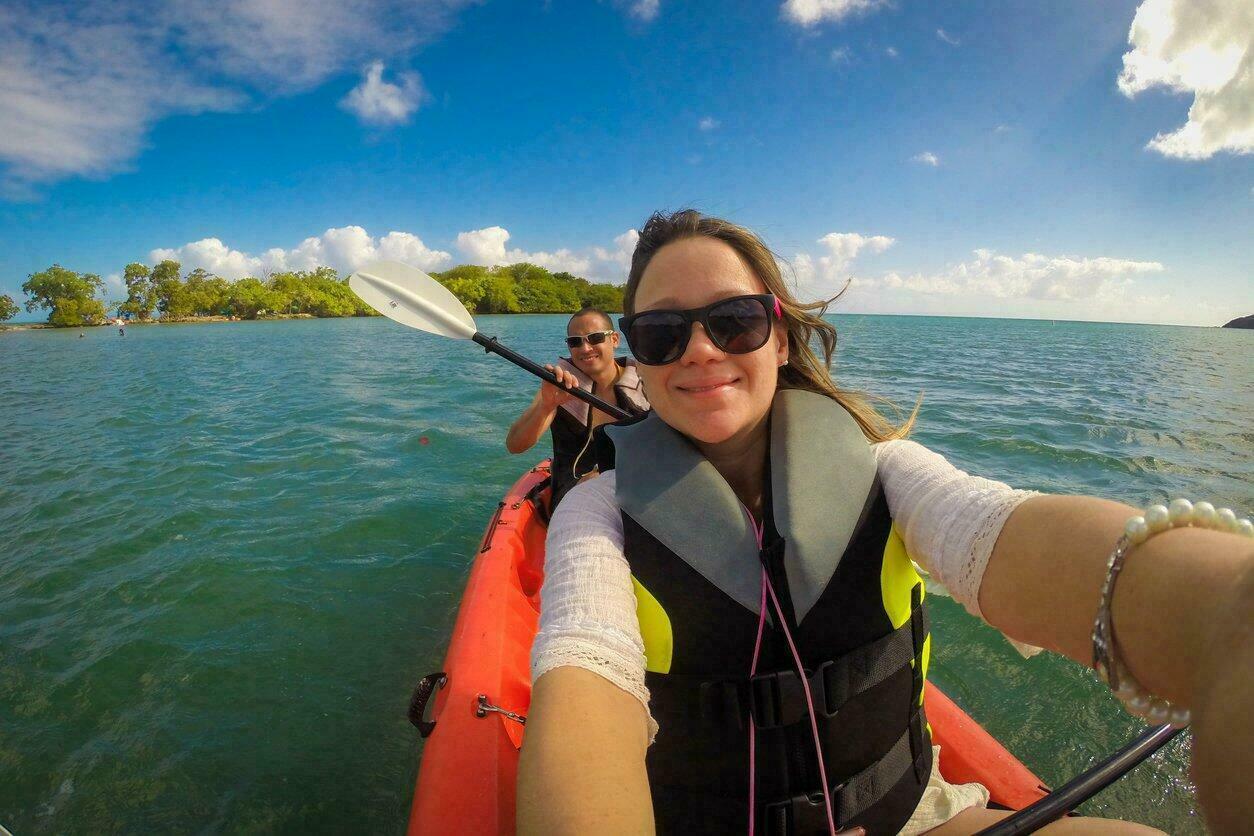 Kayak de mer à Porto Rico