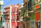 Maisons colorées typiques de San Juan