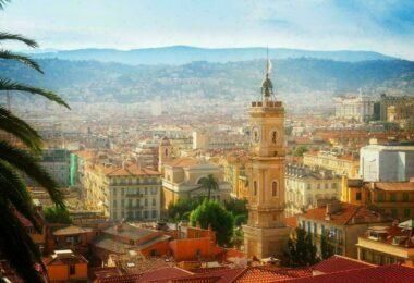 Panorama sur Nice