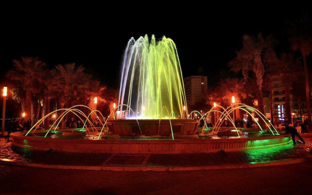 Fontaine lumineuse de Salou