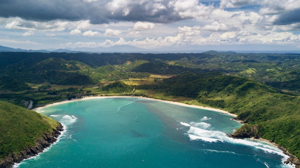 Bali plage Mawun