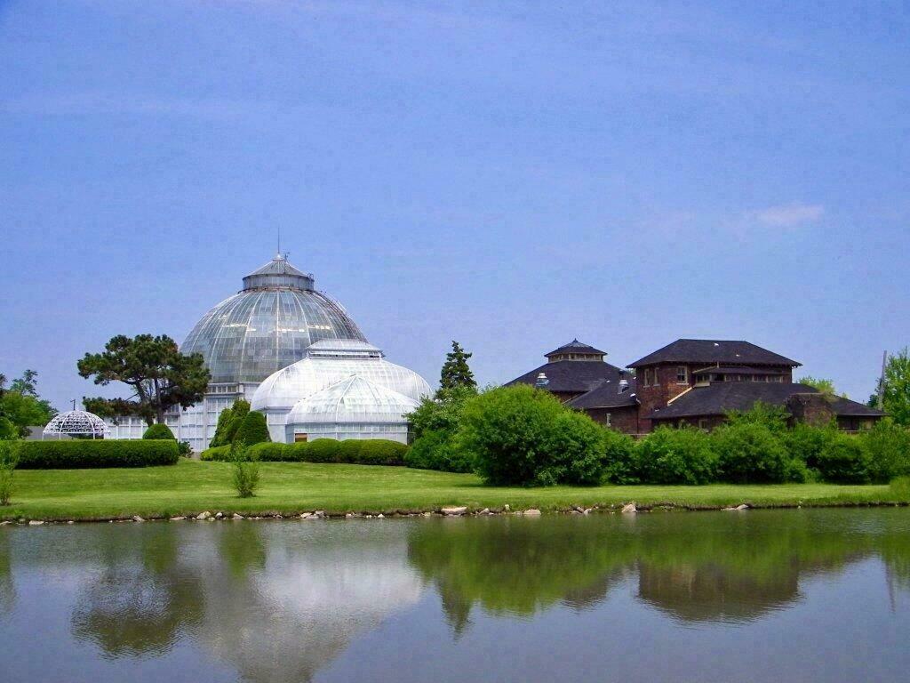 Anna Scripps Conservatory sur Belle Isle