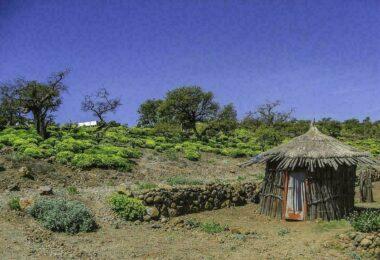 Village de montagne de Bankouale