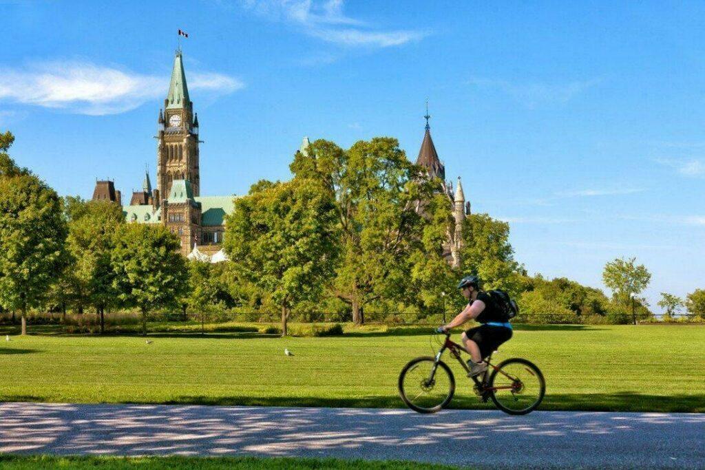 Le parc Major Hill à Ottawa