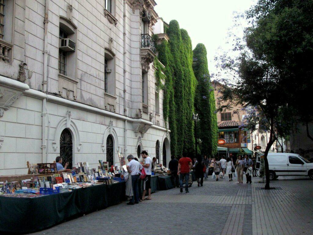 Quartier Lastarria/ Santiago