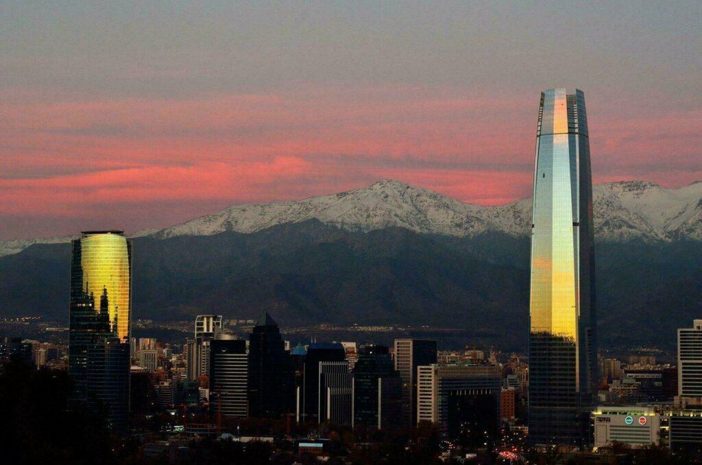 Tour sky Costanera/ Santiago