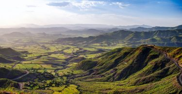 Panorama sur le massif éthiopien