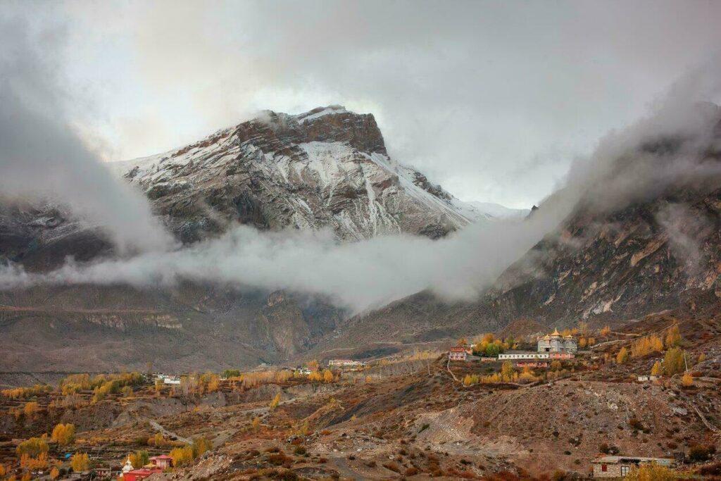 Autour du village de Muktinath