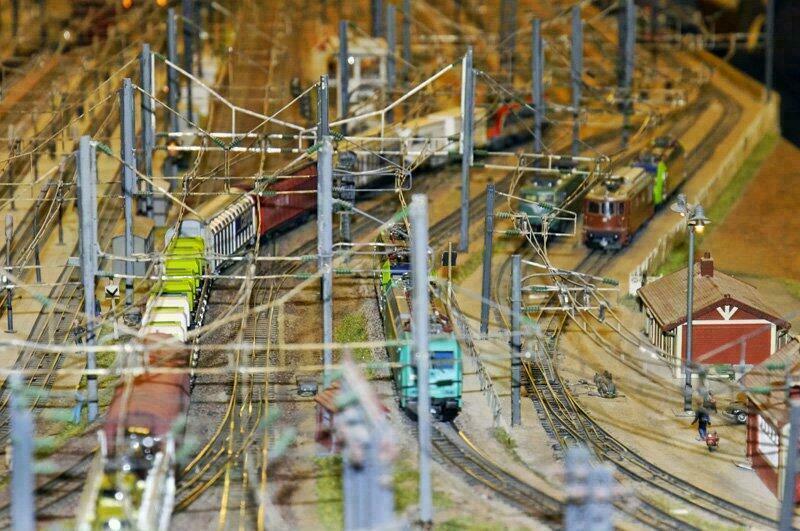 Les trains miniatures de la Gare de l'Est