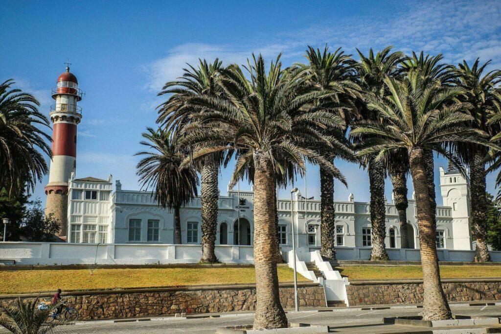 La villa d'été du Président à Swakopmund