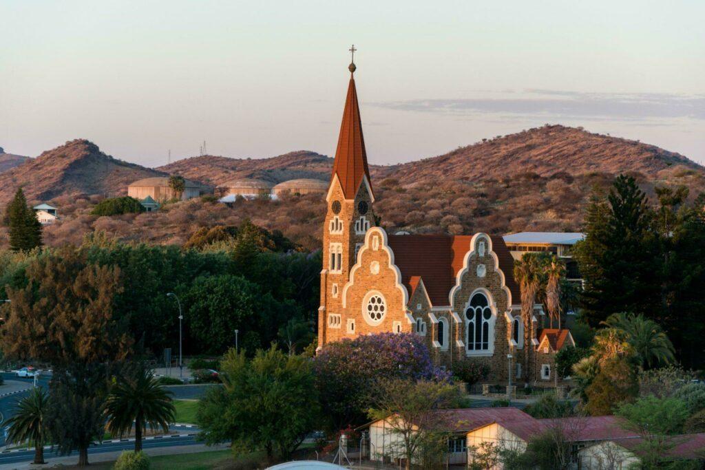 Windhoek, capitale de Namibie