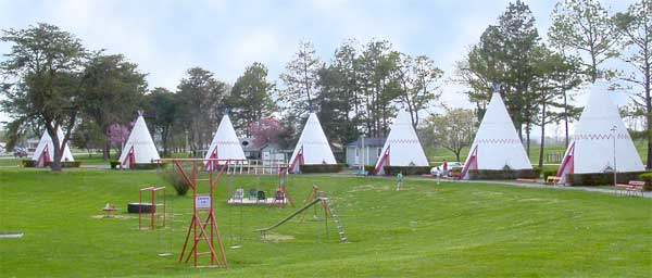 Cave City, dans le Kentucky - Wigwam Village