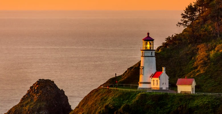 Heceta Head Lighthouse, dans l'Oregon