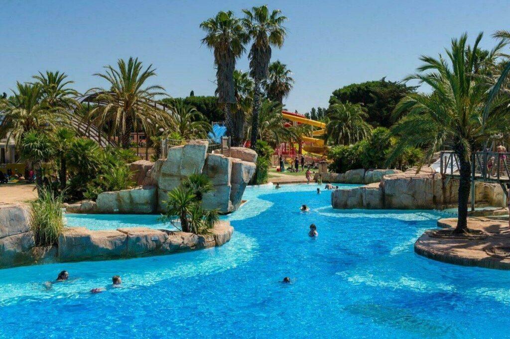 Parc aquatique du Camping La Sirène à Argelès-sur-Mer