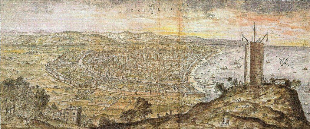 Image de Barcelone datant de 1563