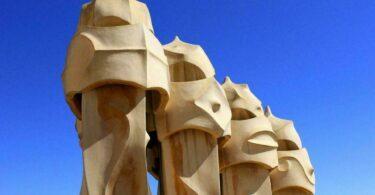 La Casa Mila à Barcelone