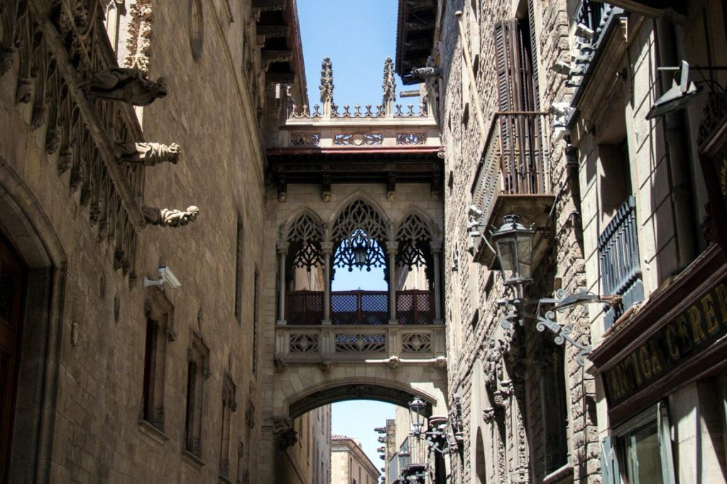 Ruelle du Barri Gòtic