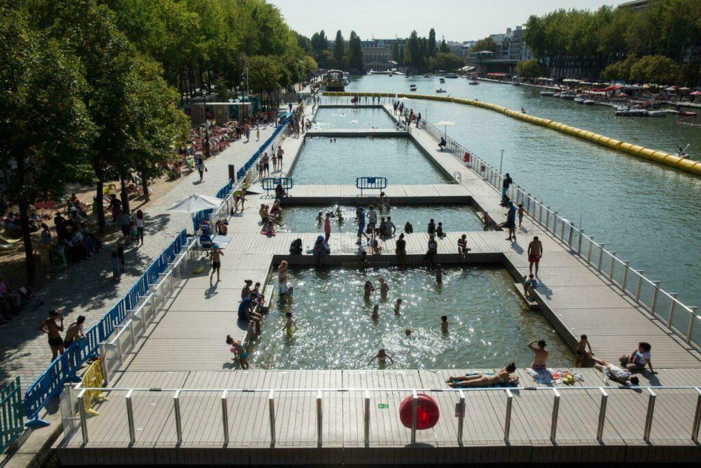 Paris Plages : les bassins de la Villette pour se rafraichir