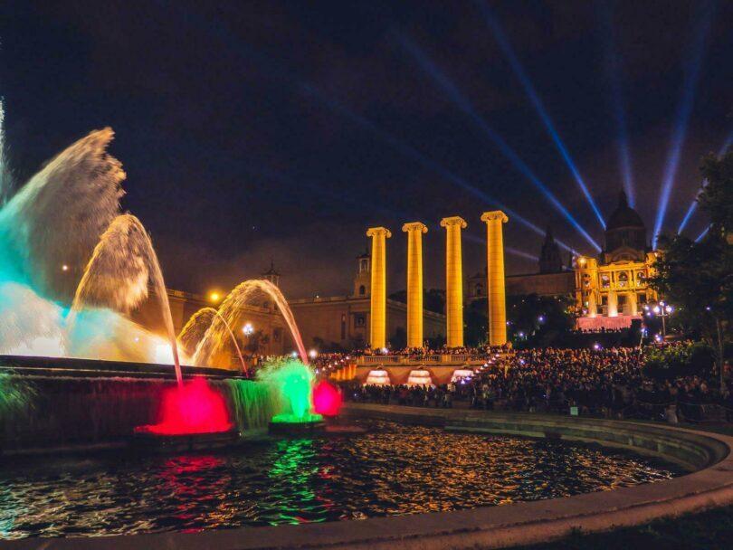 Les Fontaines magiques de Montjuïc