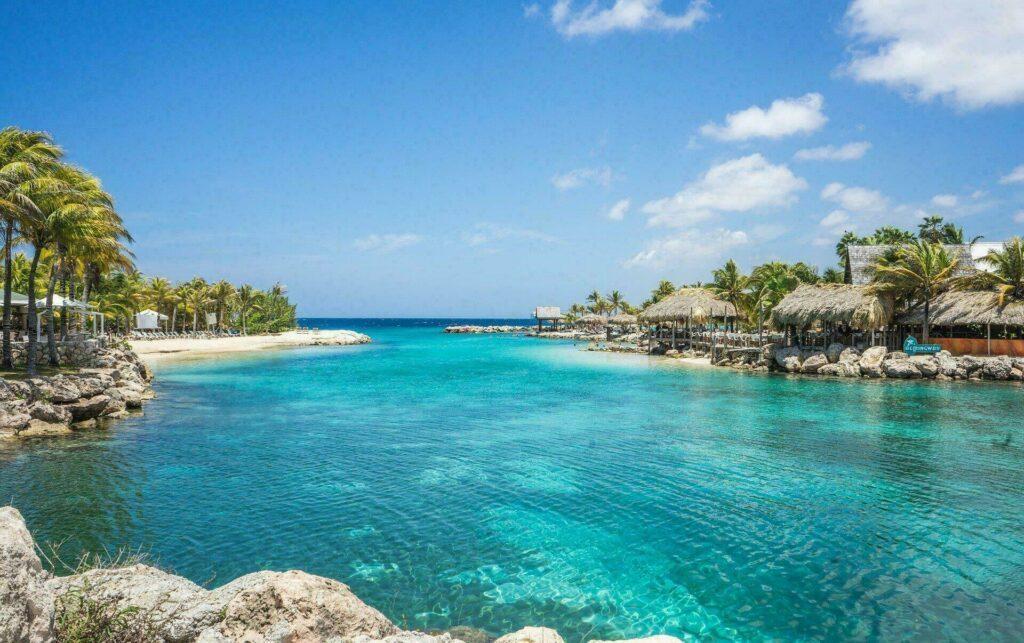 Une des Lagunes aux Antilles