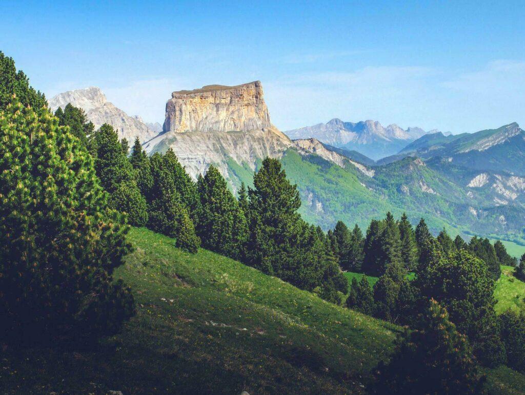 Le Mont Aiguille, symbole du Vercors