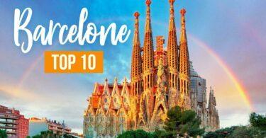 Top 10 des choses à voir ou à faire à Barcelone