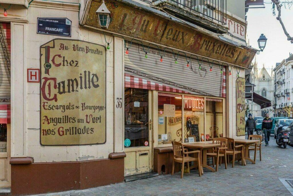 Restaurant Au Vieux Bruxelles