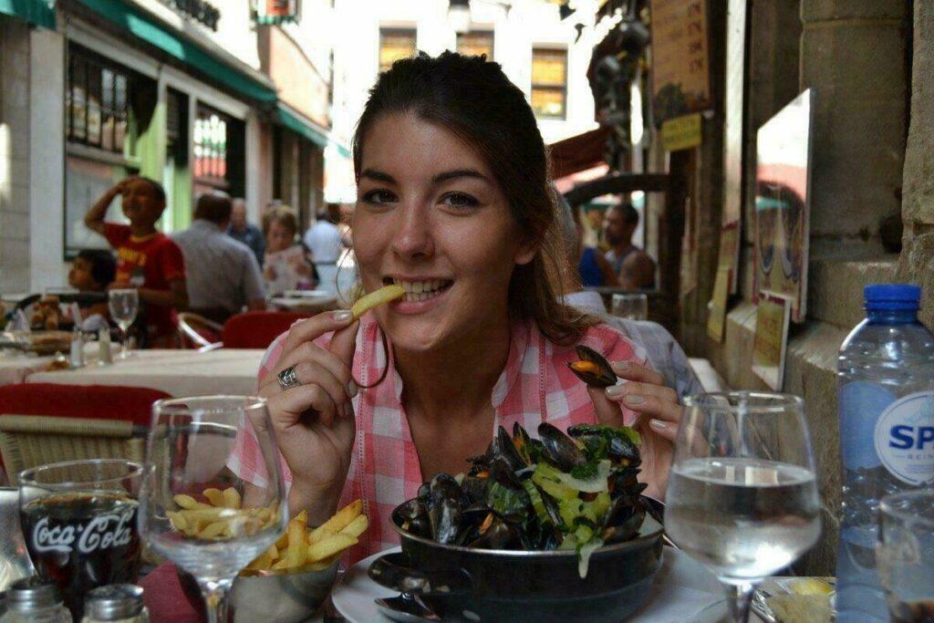 Moules frites, spécialité à Bruxelles