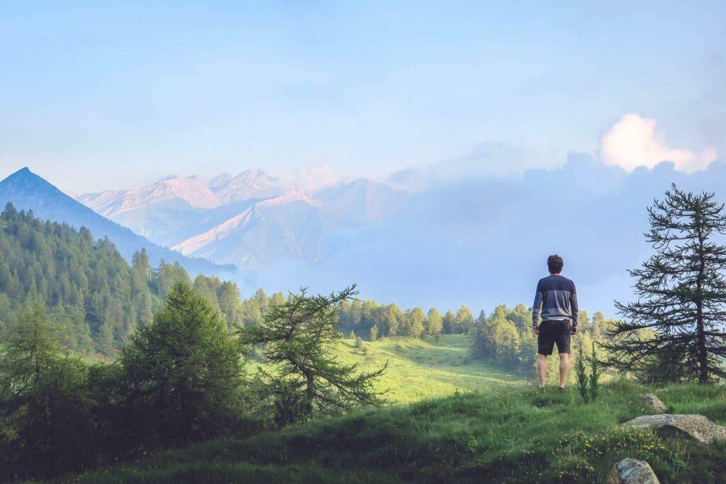 La vallée du Mont Viso