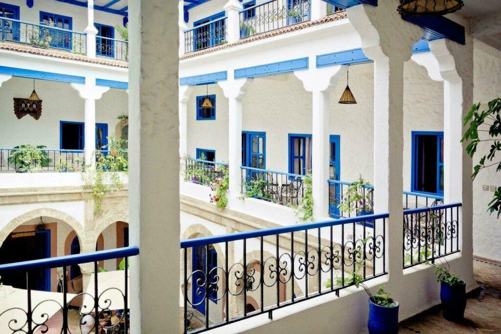 Le Riad, logement typique au Maroc