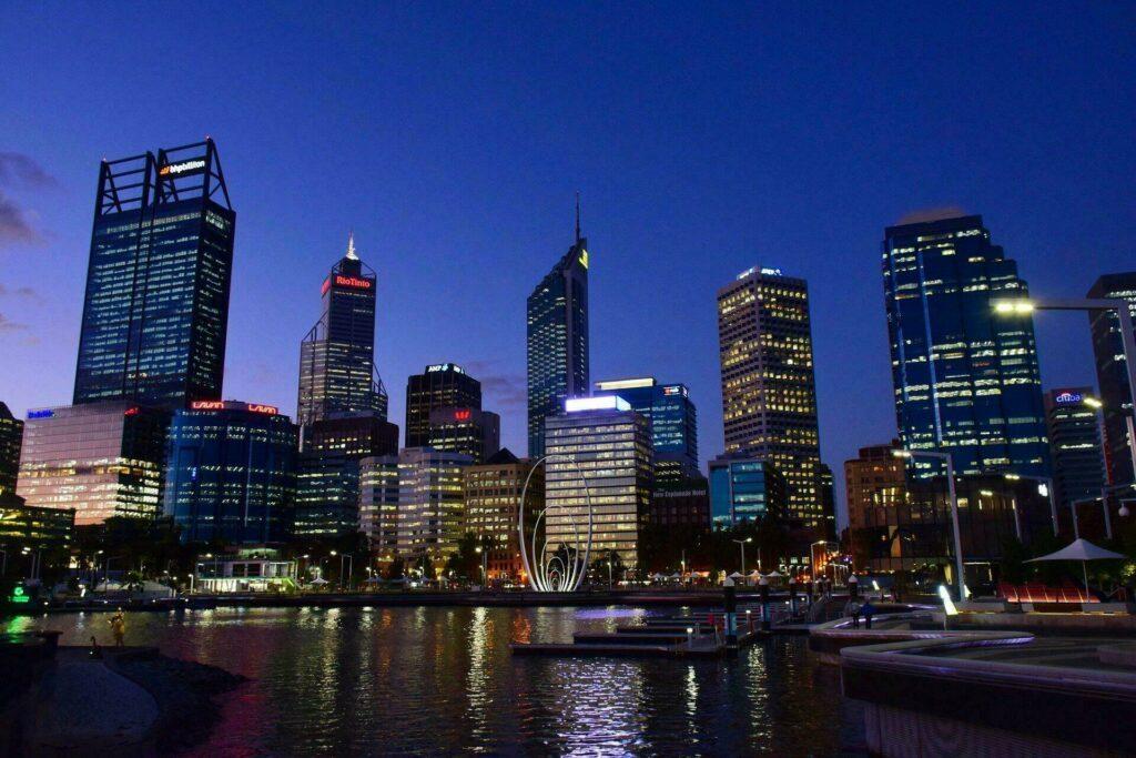 Perth, ville d'Australie