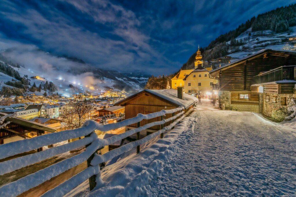 La ville de Salzbourg, en Autriche