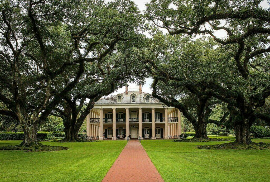 Maison typique de la Louisiane