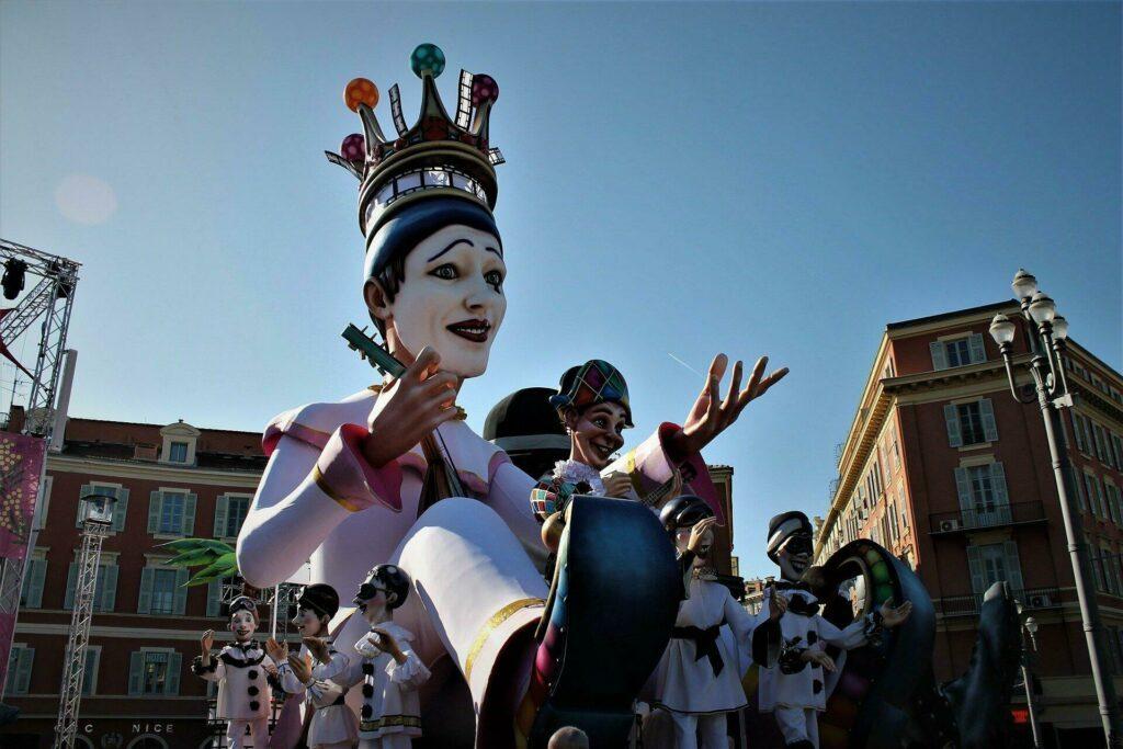 Le célèbre carnaval de Nice