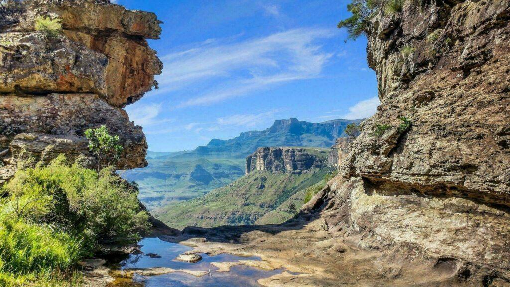 Le Drakensberg est une chaîne de montagnes d'Afrique du Sud